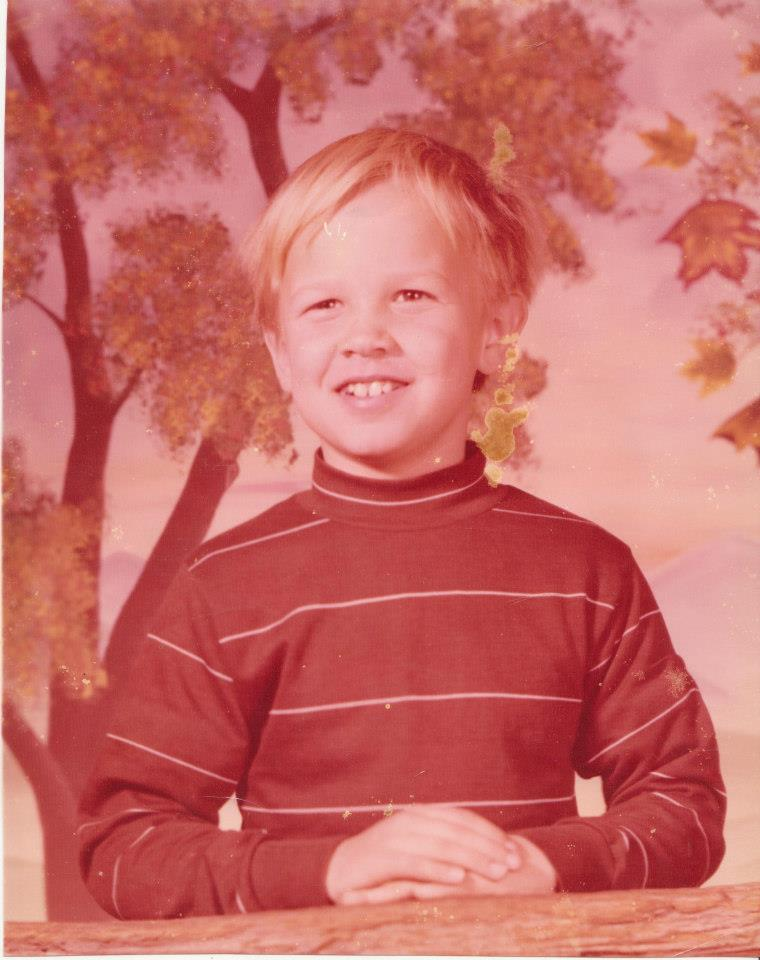 Childhood image of David