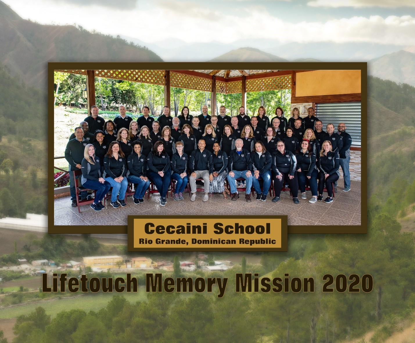Memory Mission group picture