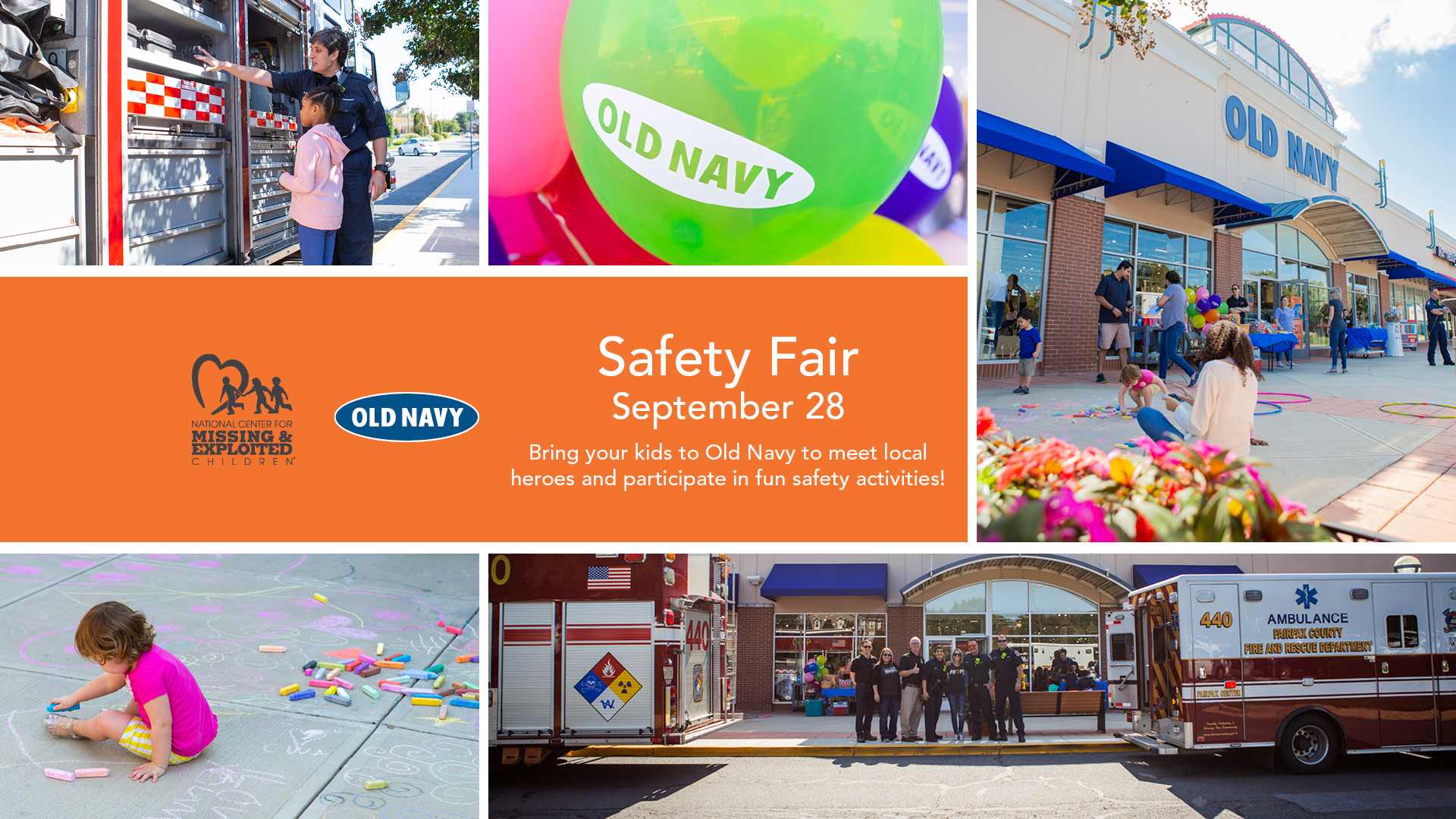 Old Navy Safety Days