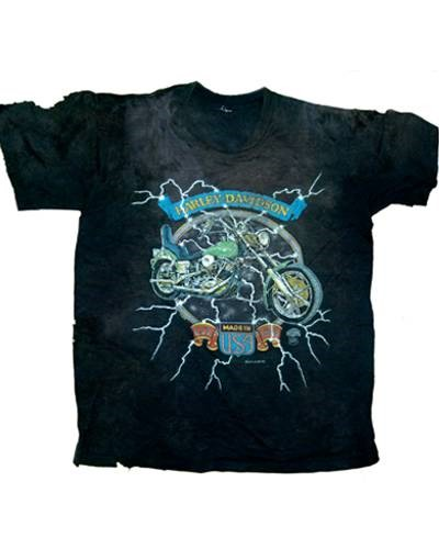 Tshirt with electric lightning background