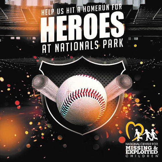 546c44522c 20, 2018 at Nationals Park in Washington, D.C. as we honor law enforcement  heroes that have gone above and beyond working the case of a missing or ...