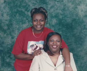 LaQuanta and her mom