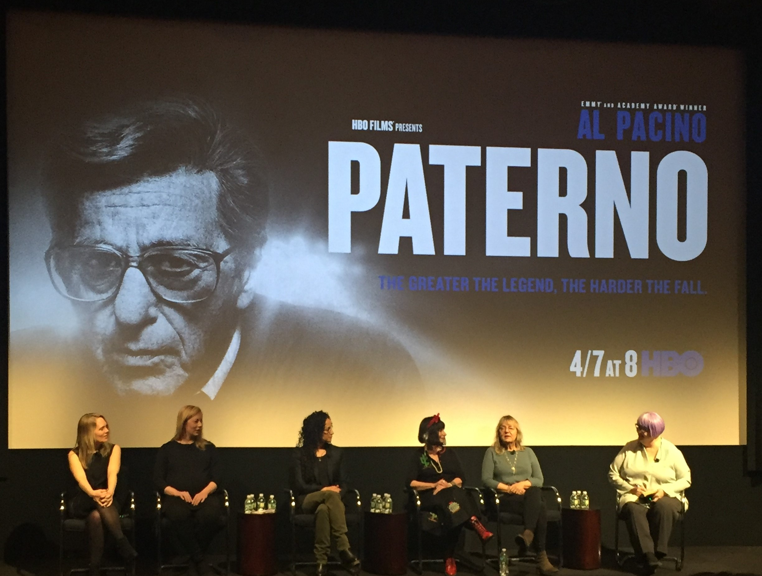 HBO 'Paterno' Movie poster