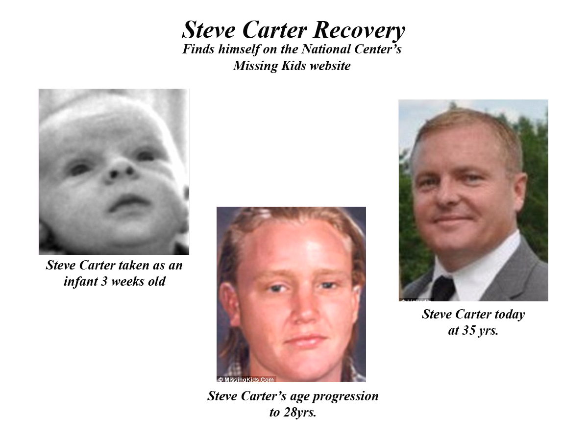 Stever Carter recovery photos